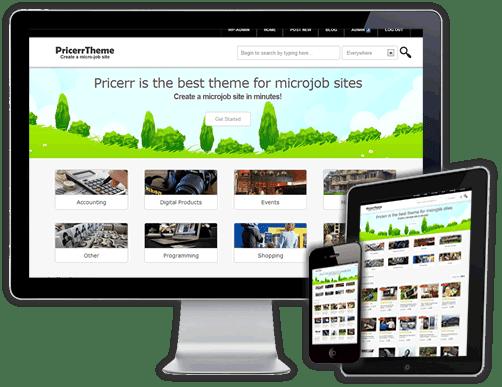 ���� ����� ����� ���� ������ ��������� ����� ����� ����� Pricerr 2.0.1 WordPress Them