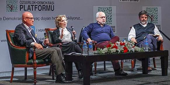 The Freedom and Democracy Platform panel