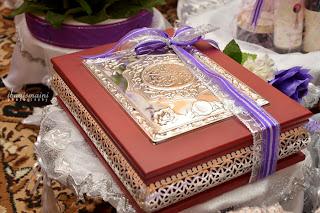 hantaran perkahwinan - Quran