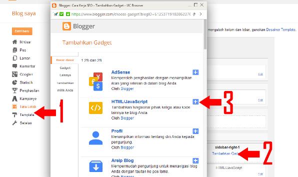 gratis widget untuk blog dengan tampilan responsive dan