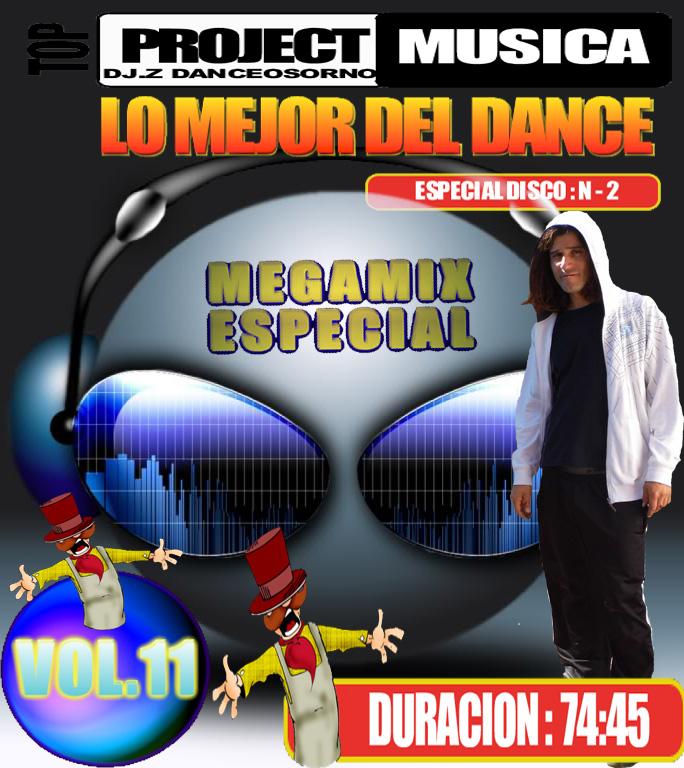 MEGAMIX LO MEJOR DEL DANCE N-2 VOL.11