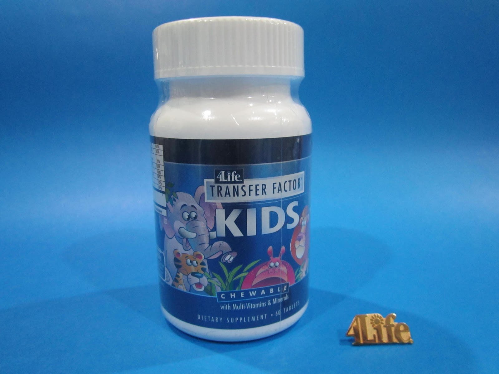 Investigaciones para la vida: 4LIFE TRANSFER FACTOR KIDS