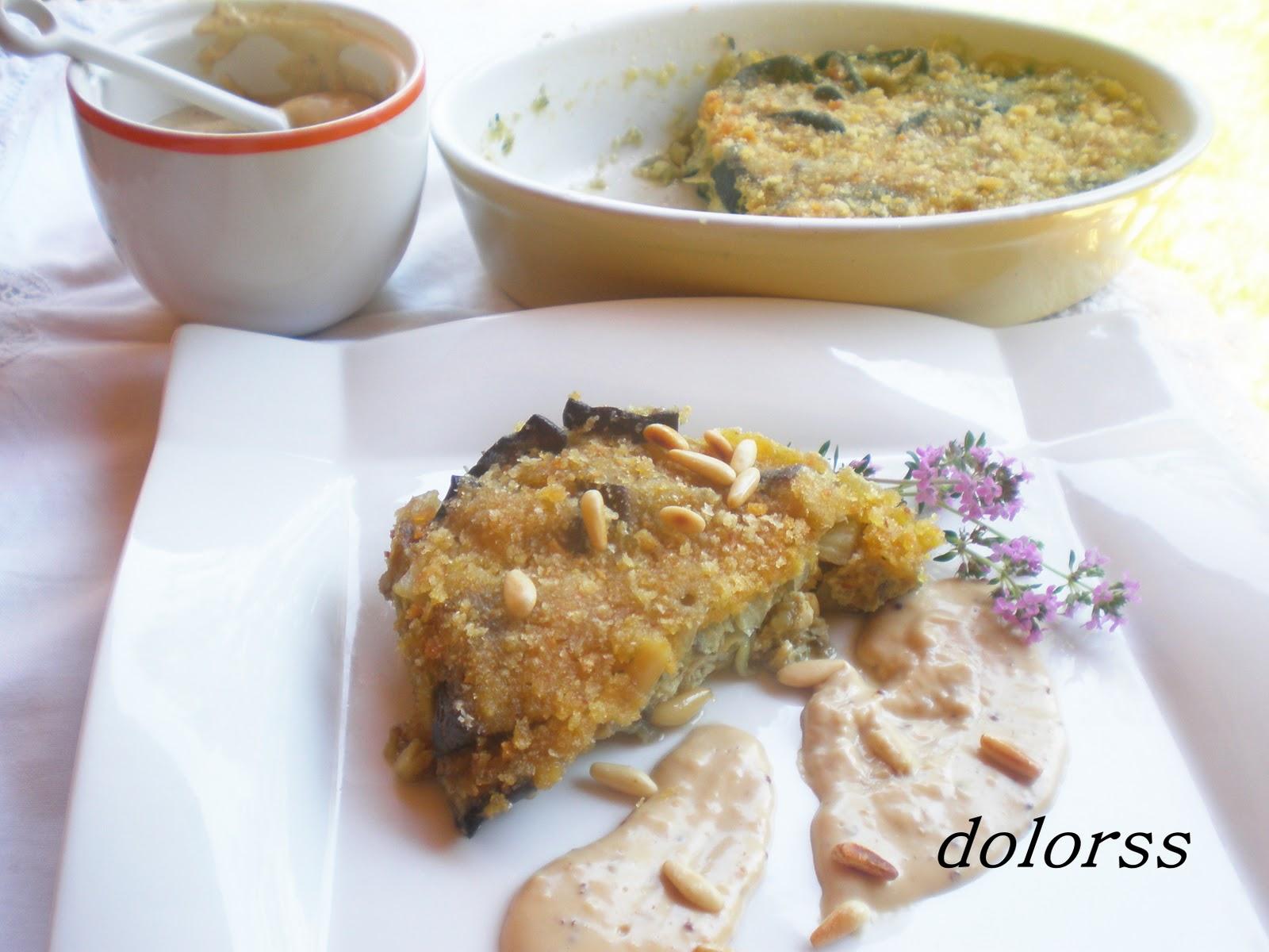 Terrina de berenjenas con salsa bechamel al aroma de pedro - Bechamel con nata para cocinar ...