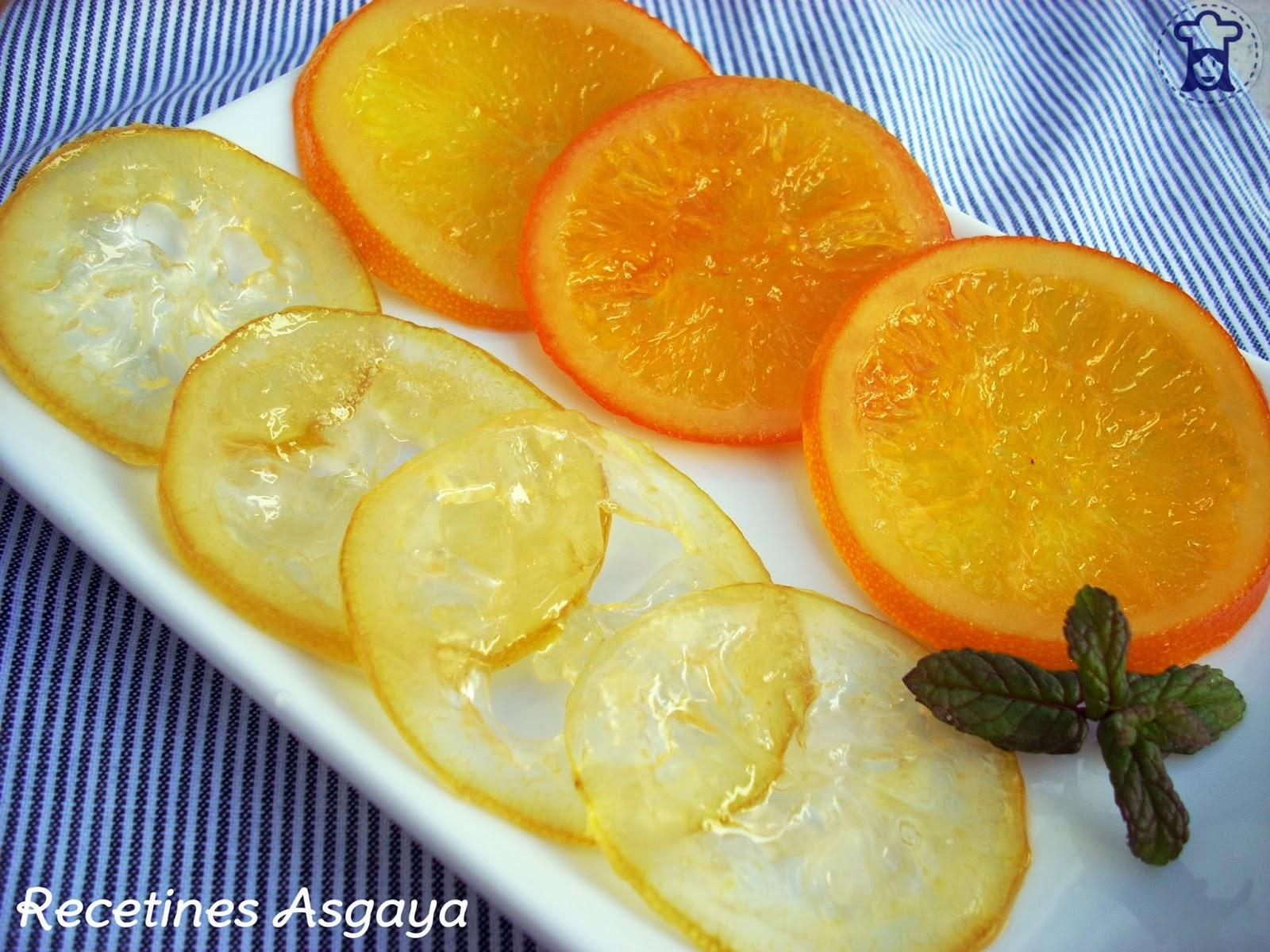 Naranja y lim n confitados recetines asgaya for Limonero sin limones
