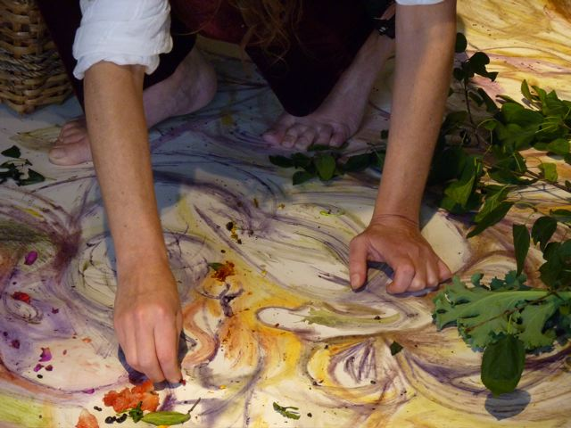 Récolter-dessiner-cuisiner-nourrir  2011 - ongoing