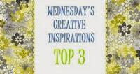 In de Top 3 bij Creative Inspirations