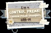I'm a Control Freak Stamper!