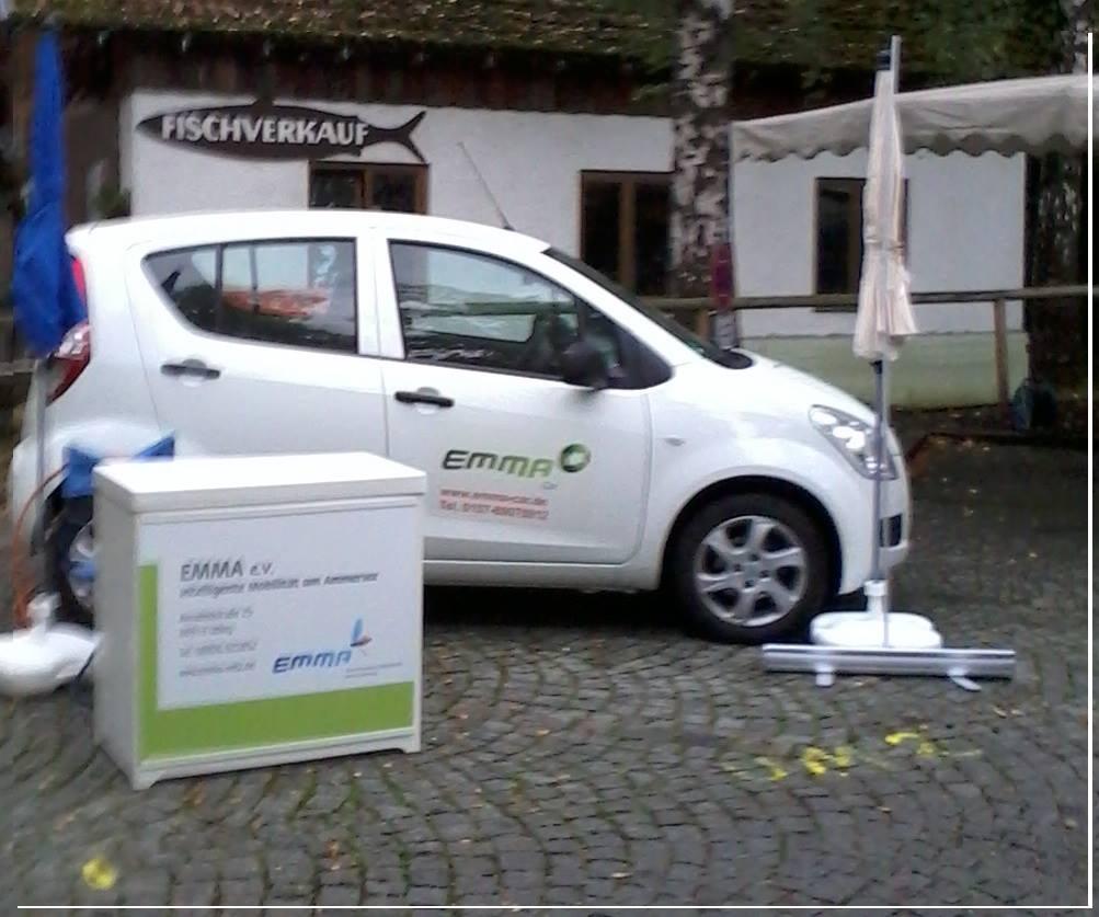 Elektroauto Carsharing am Ammersee