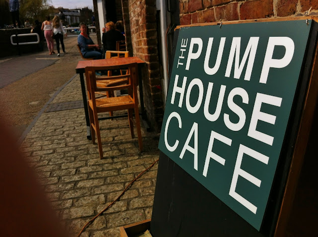 pump house cafe regents canal