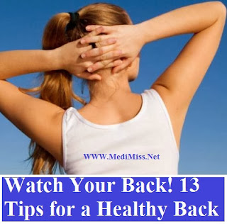 Tips for a Healthy Back