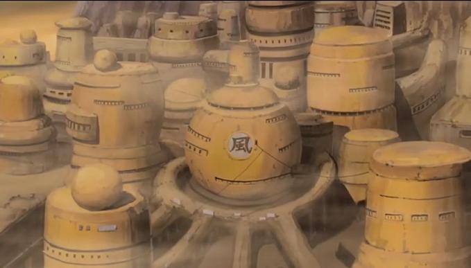 [Suna] Gabinete do Kazekage Sunagakure