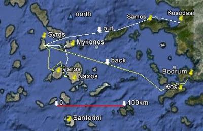 Tezzas Beaches and Islands Greek Island Hopping