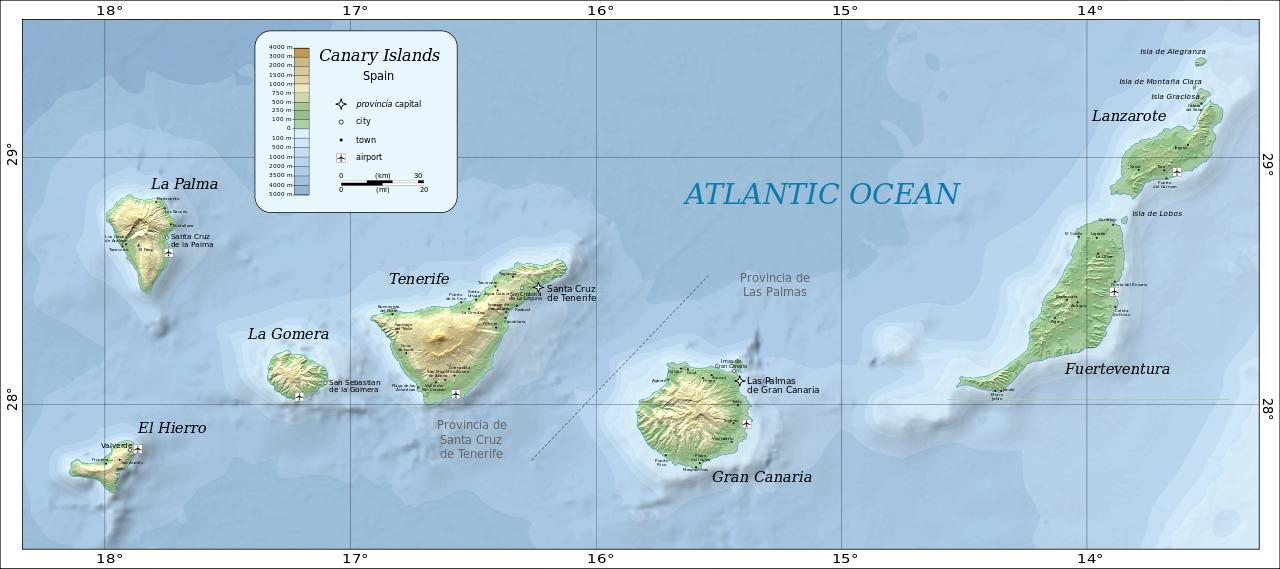 جزر الكناري