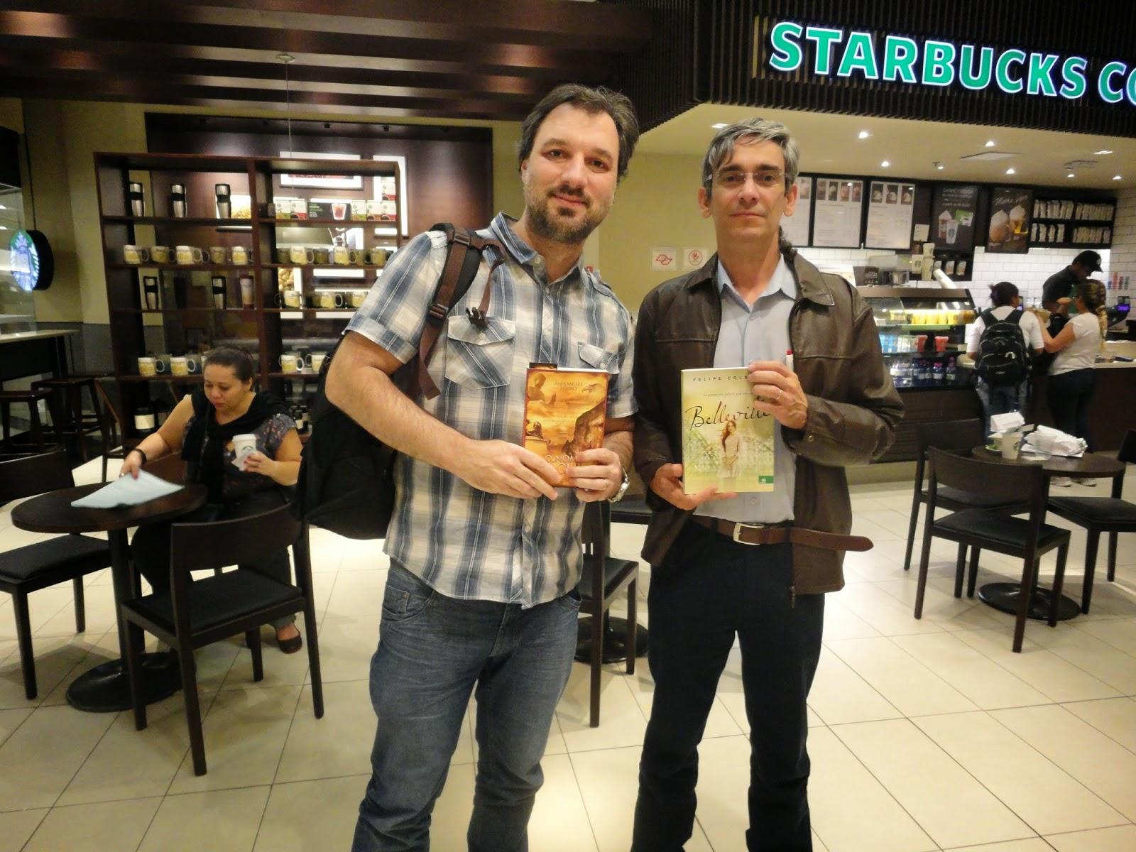 Felipe Colbert e eu