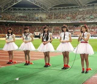 NGT48が「NSTまつり」や「ビッグスワン」に登場(J1アルビレックス新潟試合)
