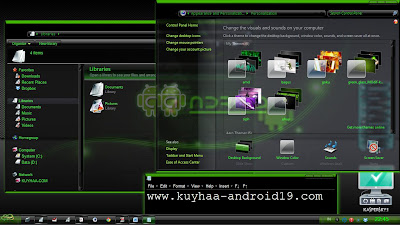TEMA ANDROID FOR WINDOWS 7