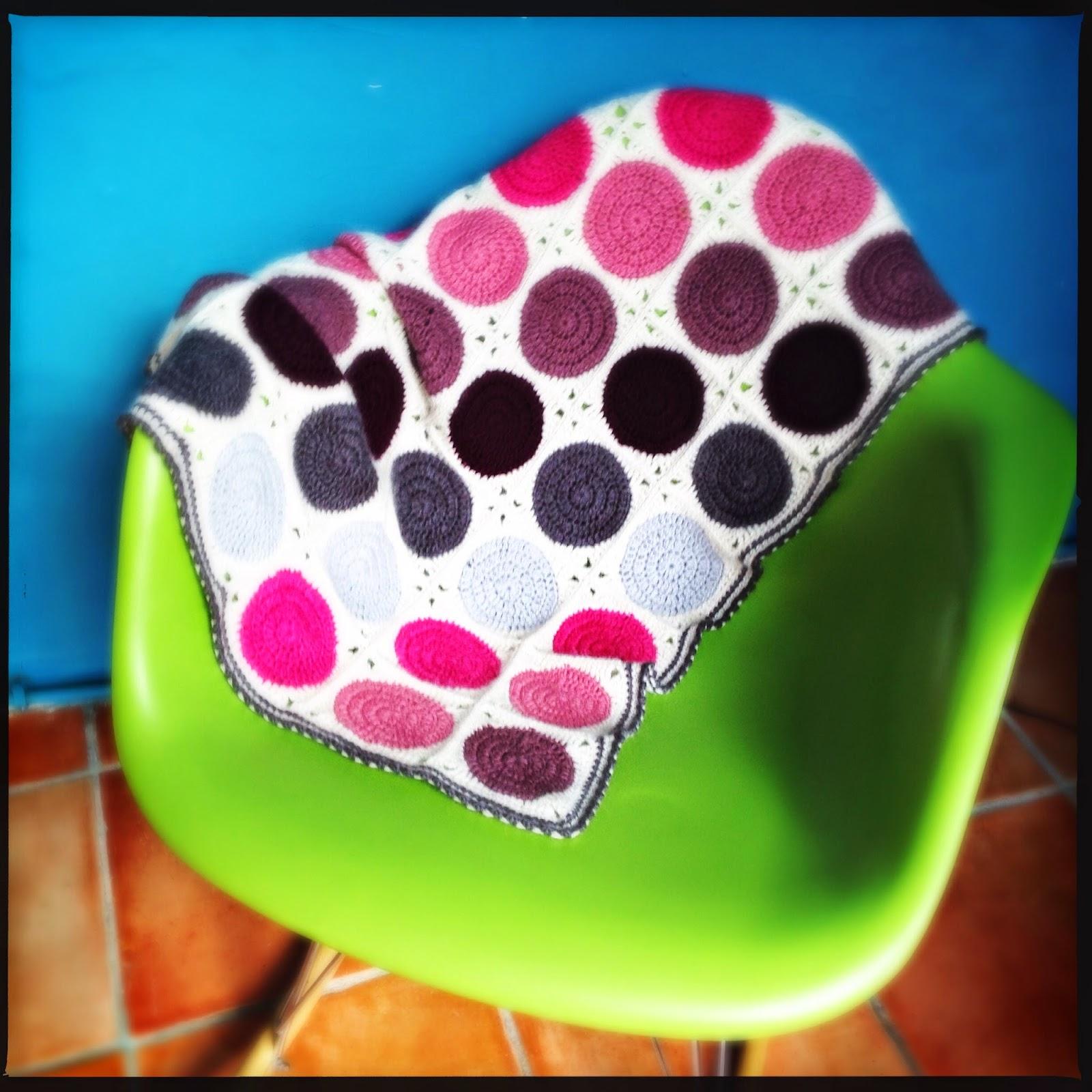 modele gratuit couverture crochet Filature du Valgaudemar