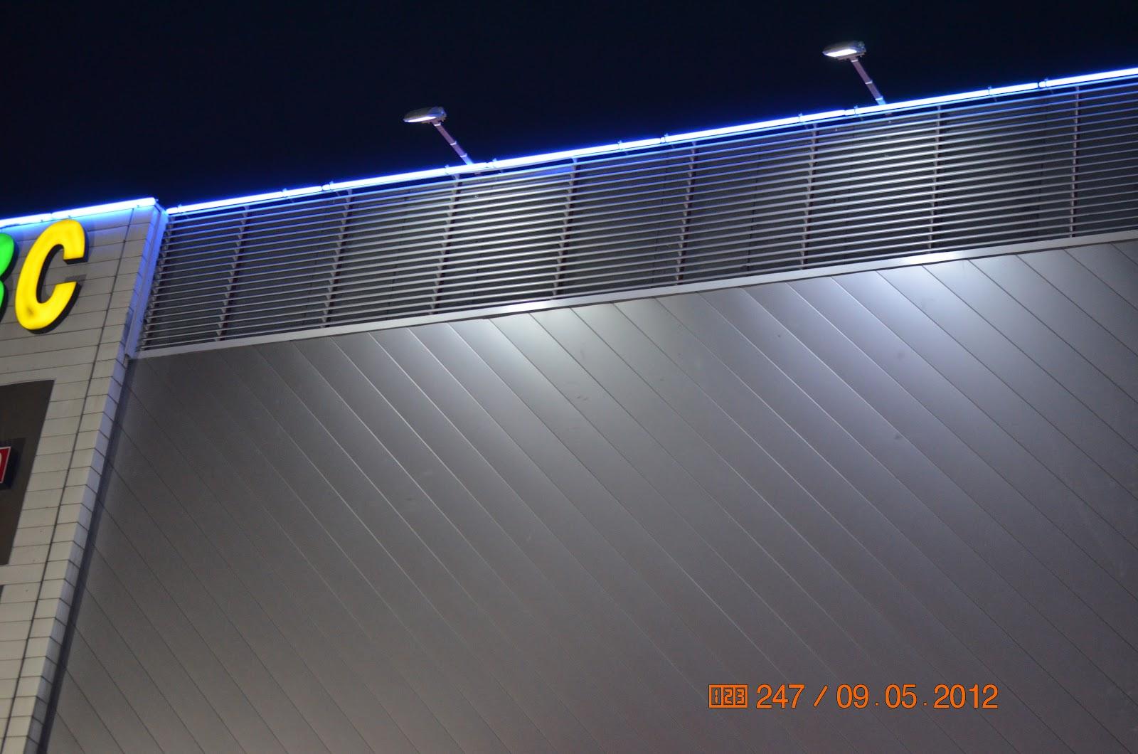 Oświetlenie Led Oświetlenie Elewacji Budynku