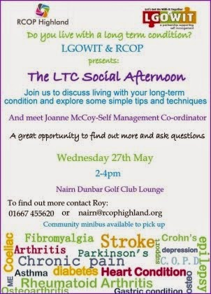 LTC Social Afternoon Weds 27th May