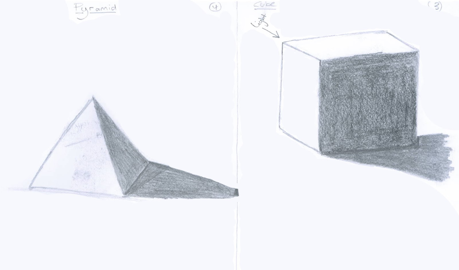 how to draw a pyramid in word
