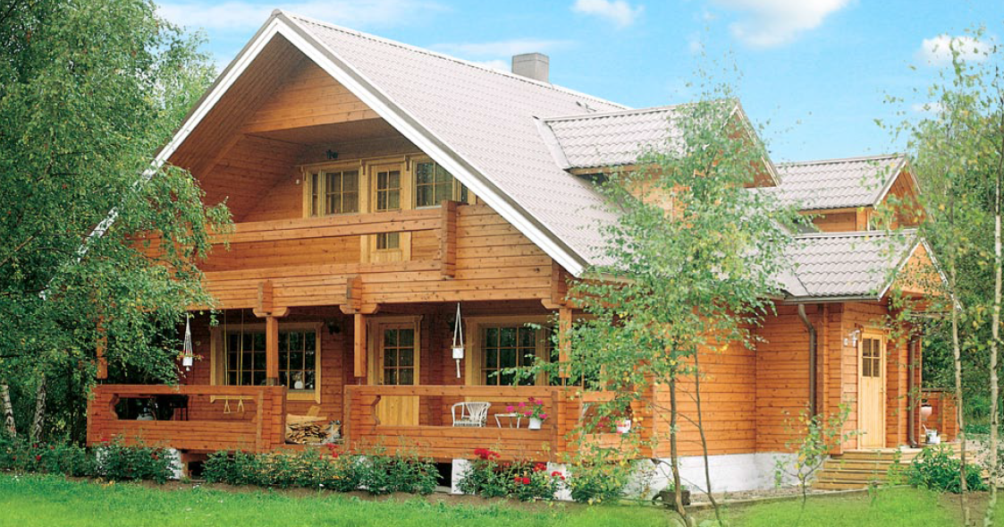 Beautiful a frame wooden house with sauna timber frame Timber house