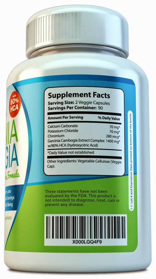 Oma Loves U! - Sonora Nutrition 80% HCA Garcinia Cambogia