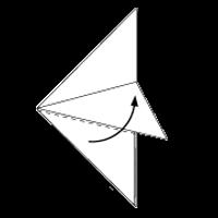Cara Membuat Origami Ikan 3