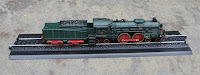 reproduction of Orient Express train. Scale 1/220,