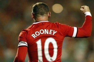 Rooney cedera PSV vs United