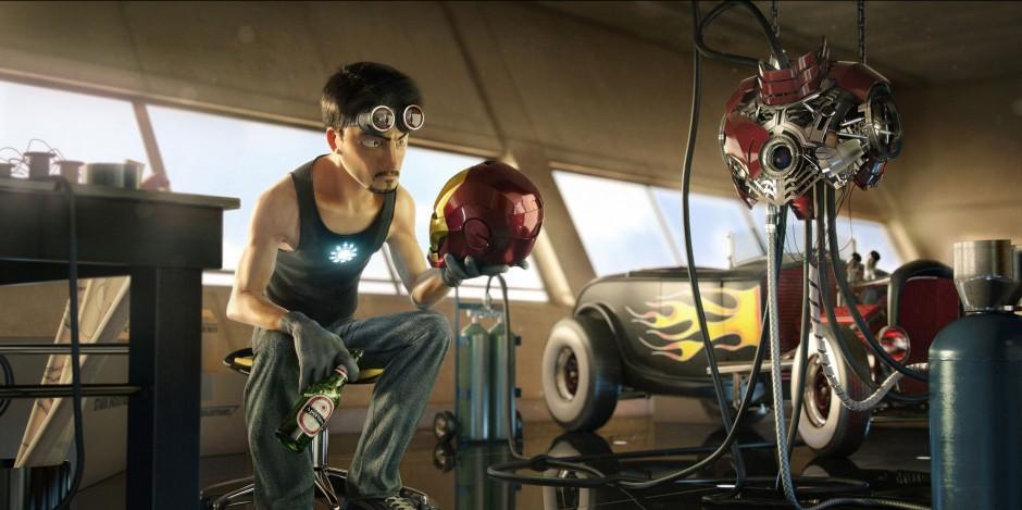 Tony Stark - Victor Hugo Queiroz