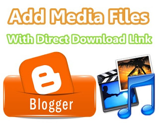 How to add MP3 or other Media files in Blogger