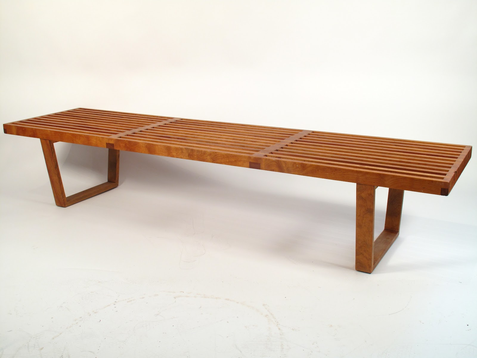 Just In Modern George Nelson Slat Bench 1950 39 S