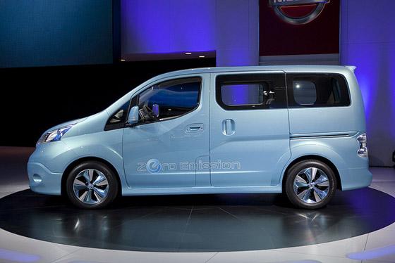 2015 Nissan e-NV200