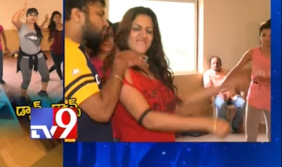 TSR - Tv9 Film Awards  Top stars Dance, TSR awards 2015, tsr tv9 awards