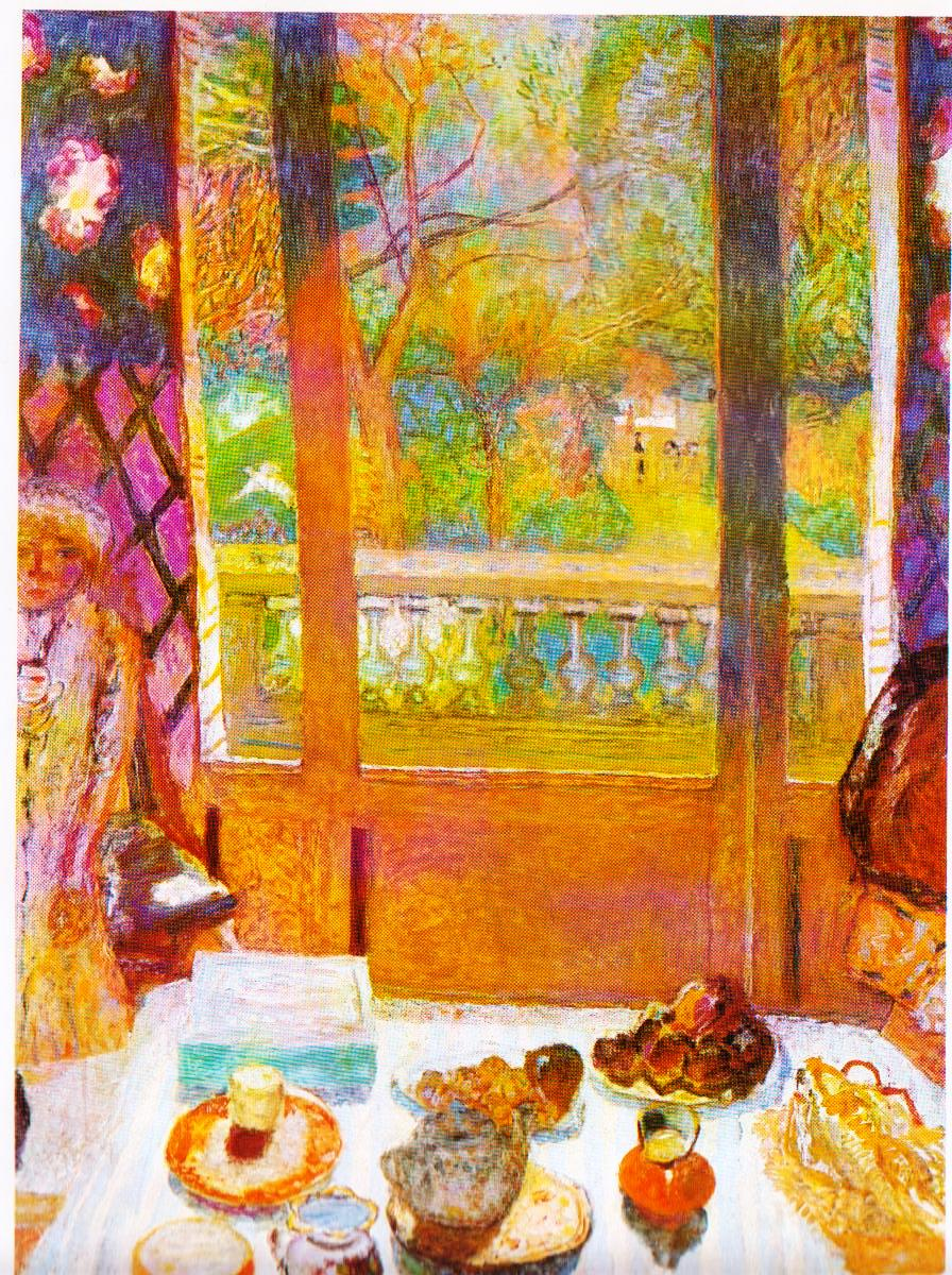 Literature fool pierre bonnard images of summer for Art painting for dining room