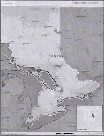 Canada Toronto Mission Map