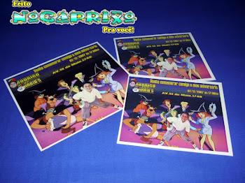 Convite Personalizado Scooby Doo