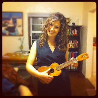 Jennie Jacobs ukelele