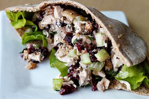 Cranberry-walnut Chicken Salad Recipe — Dishmaps