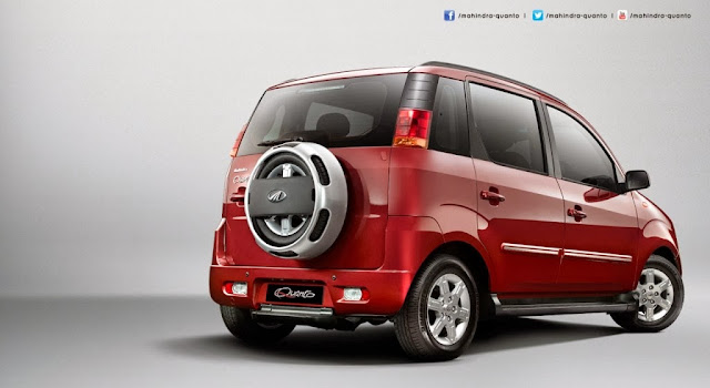 Mahindra Quanto Compact SUV Pictures