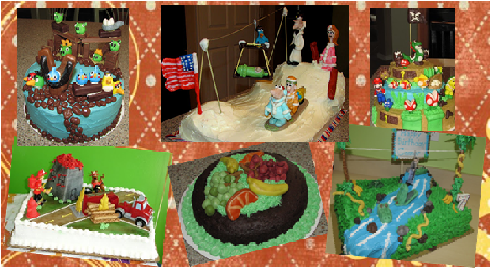 3D Cake Decorating