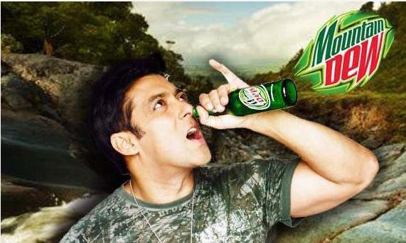 salman khan latest wallpapers. Salman Khan#39;s New Mountain Dew