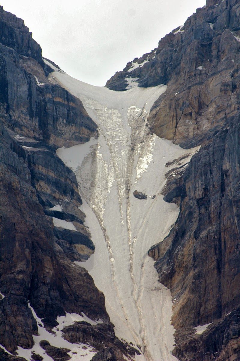 Glacier in Moraine Lake