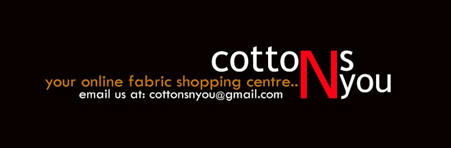 cottons N you, online fabric shopping centre
