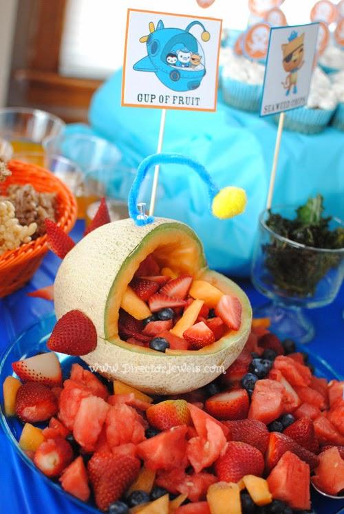 Director Jewels Octonauts Birthday Party Food Ideas