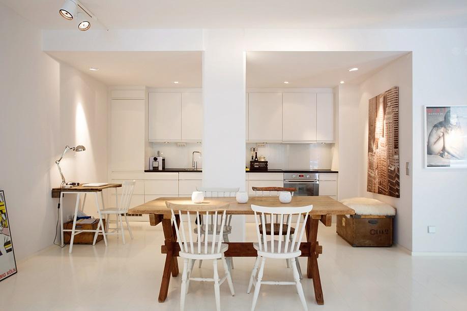 Un piso con muebles de palets boho deco chic for Arredamento minimal chic