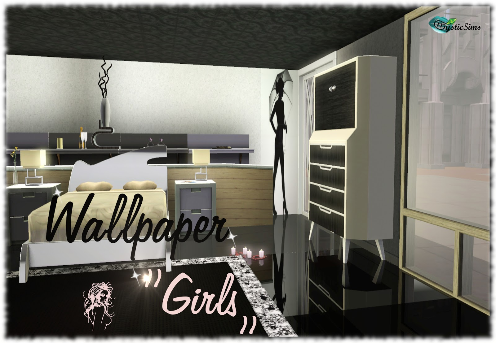 "New: Wallpaper ""Girls"" for"