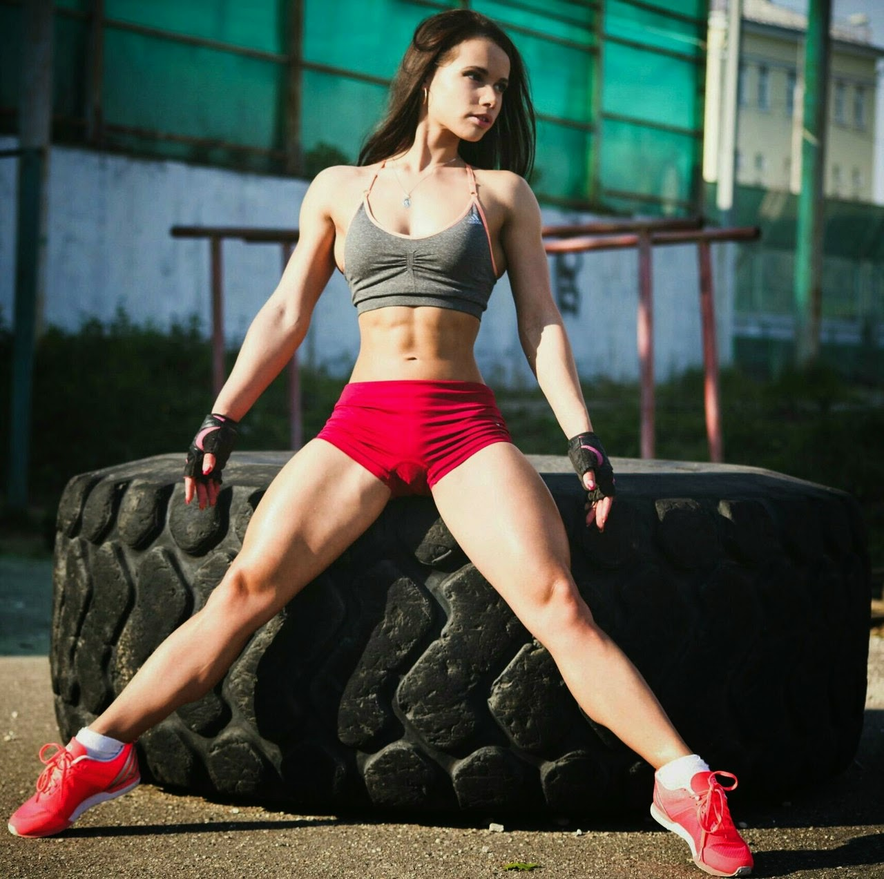 hot sexy muscle girls