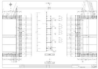 単管足場 平面図