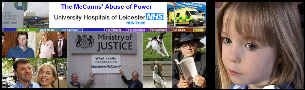 NHS: The McCanns' Abuse of Power